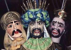 Puppets of the Sicilian teatro dei pupi