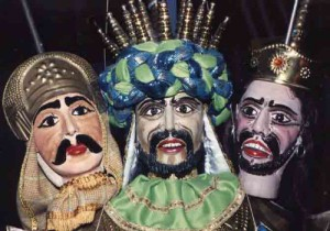 Puppets of the Sicilian teatro dei pupi